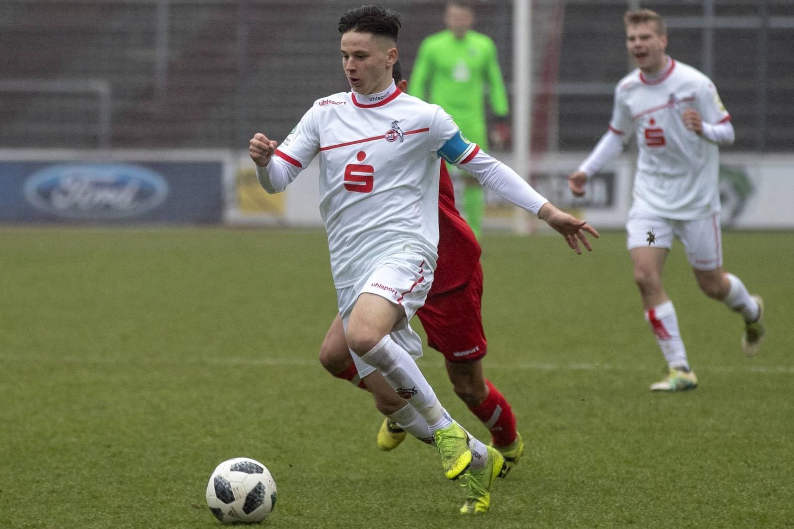 Tomas Ostrak vom 1. FC Köln