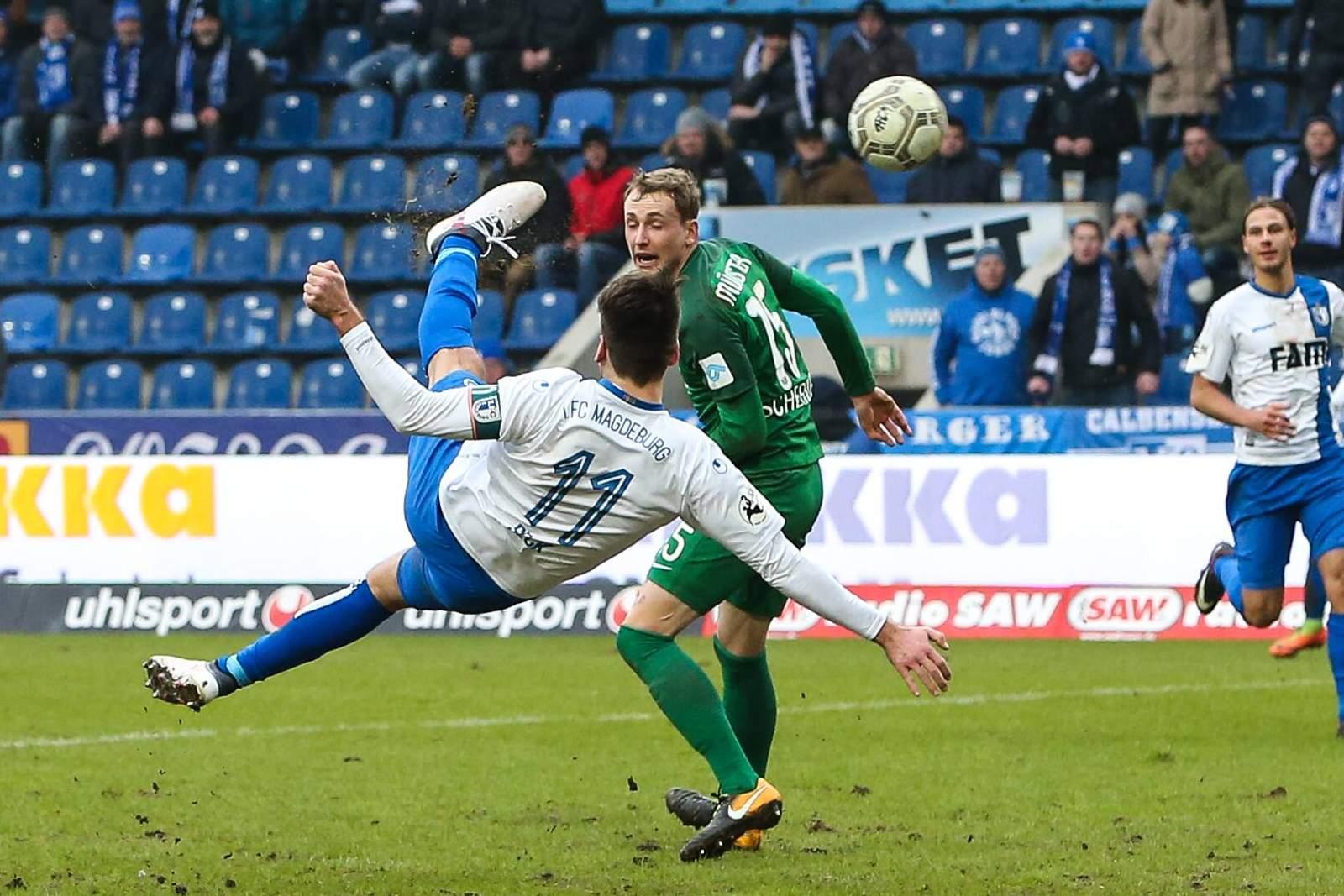 1fc Magdeburg Tor Des Jahres Nächste Chance Für Beck