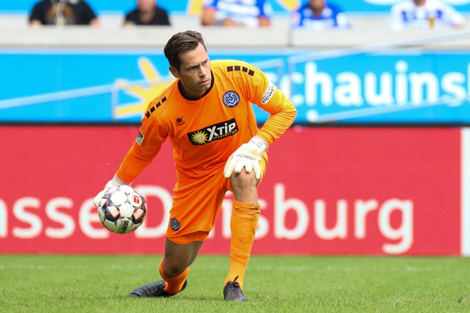 Daniel Davari machte in dieser Saison bislang nur vier Zweitliga-Spiele.