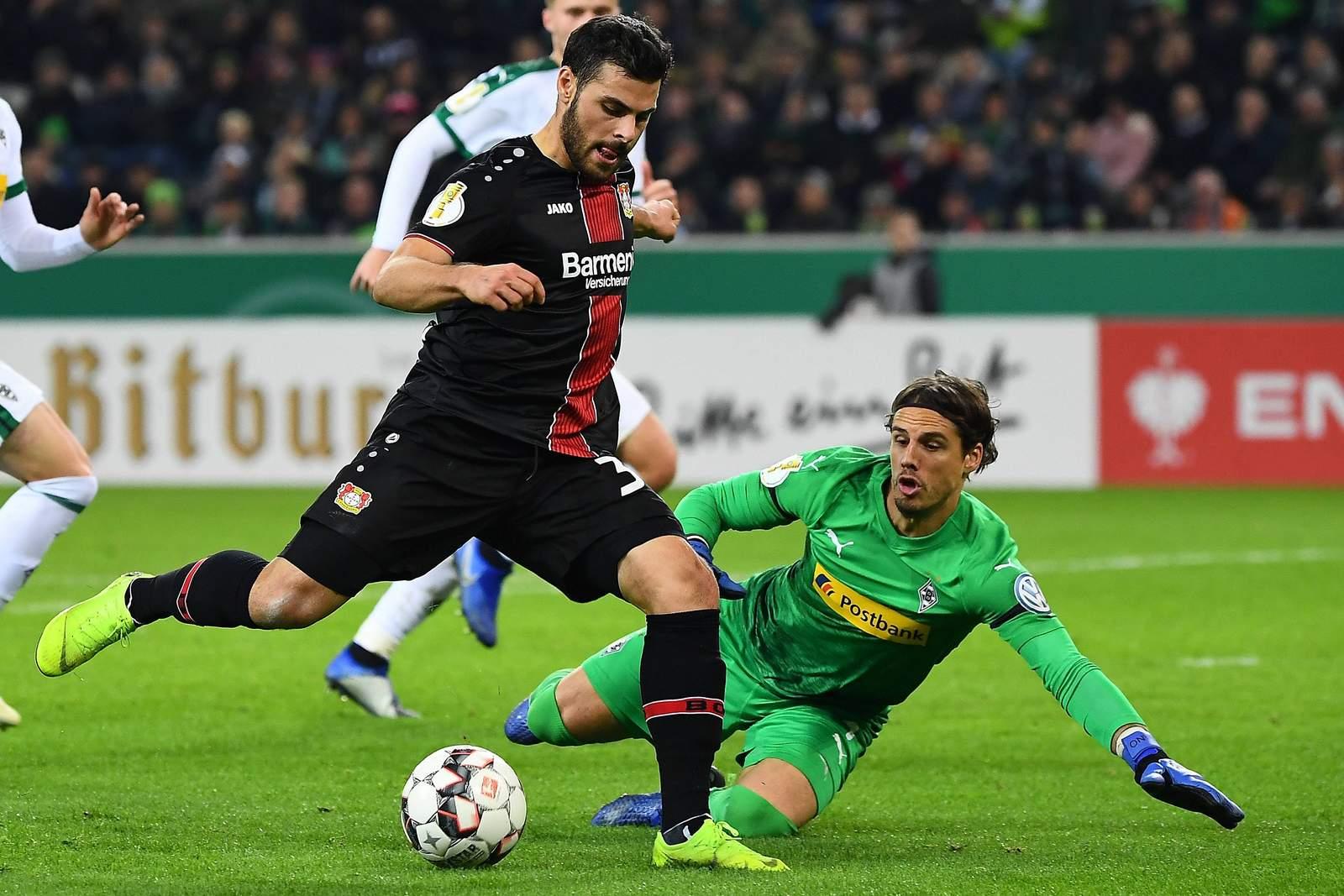 Trifft Volland wieder gegen Sommer? Jetzt auf Leverkusen gegen Gladbach wetten
