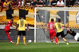Heidenheim gegen Dynamo Dresden