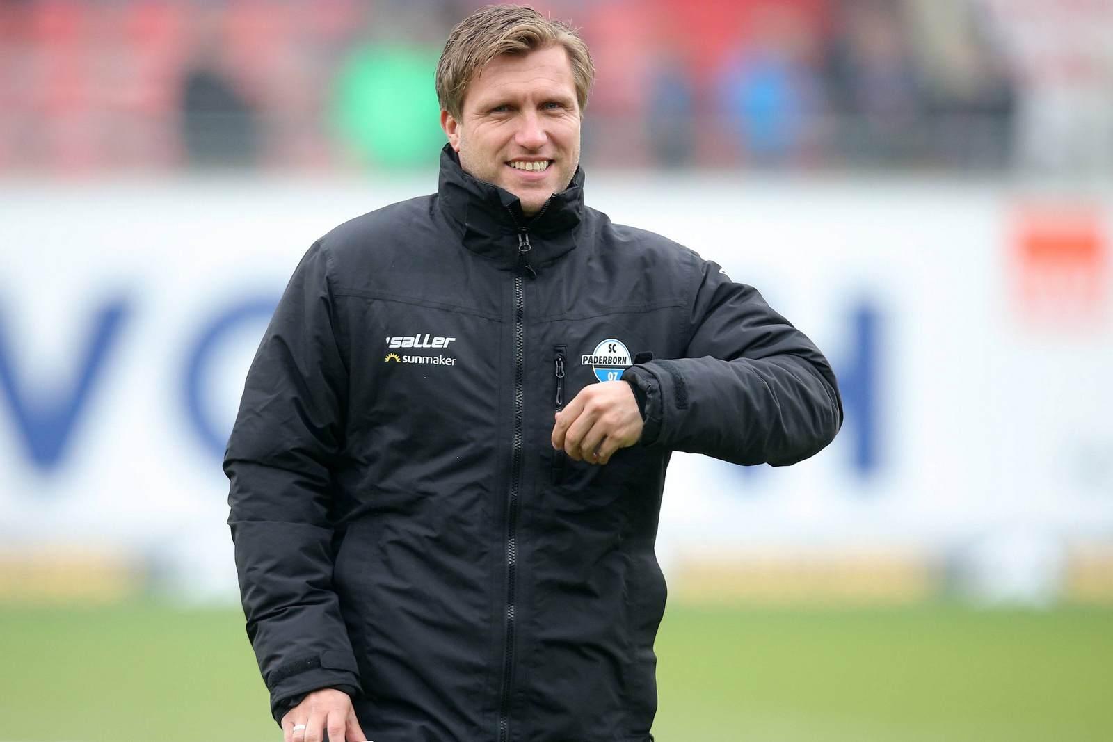 Markus Krösche vom SC Paderborn