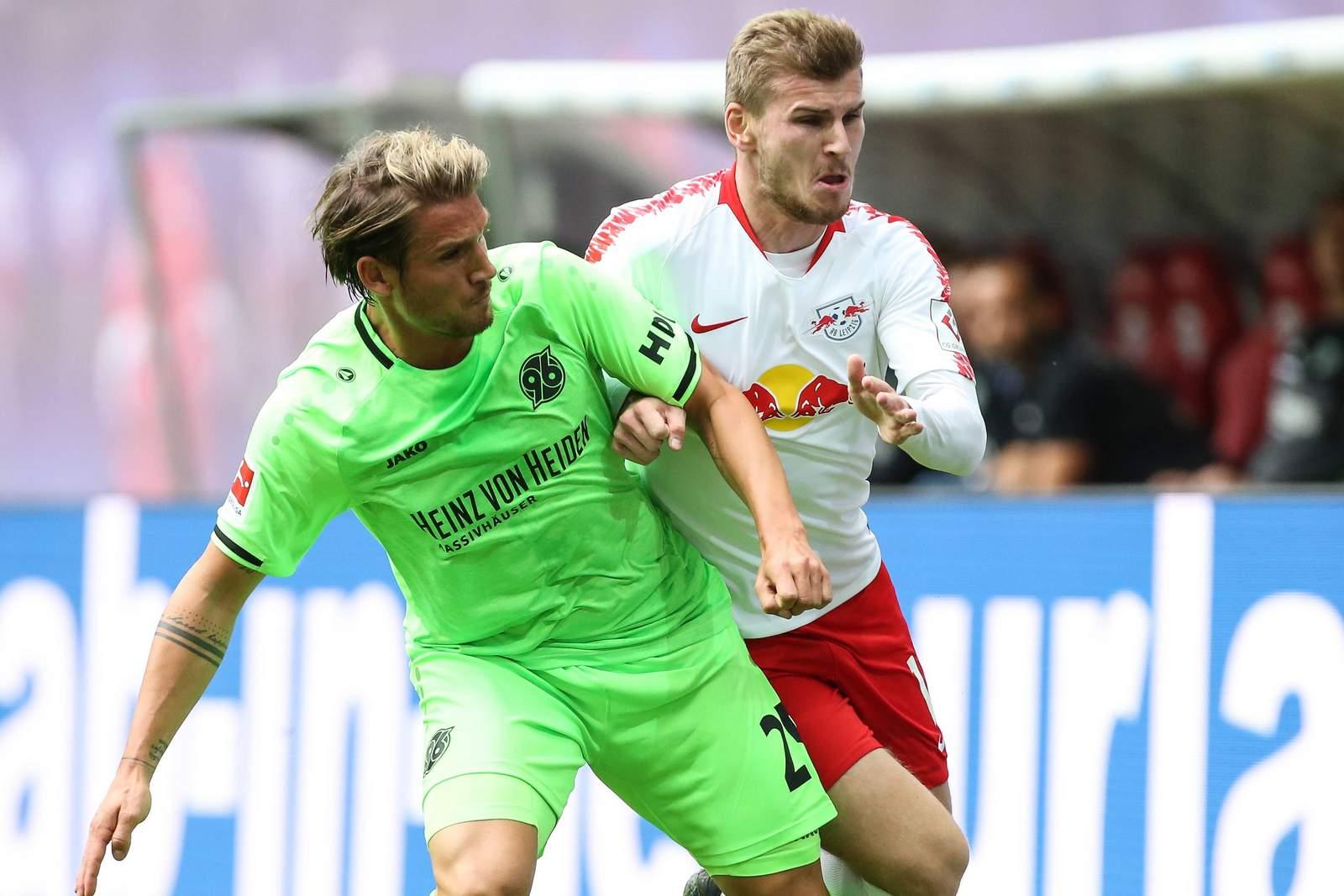 Setzt sich Werner gegen Sorg durch? Jetzt auf Hannover gegen Red Bull Leipzig wetten