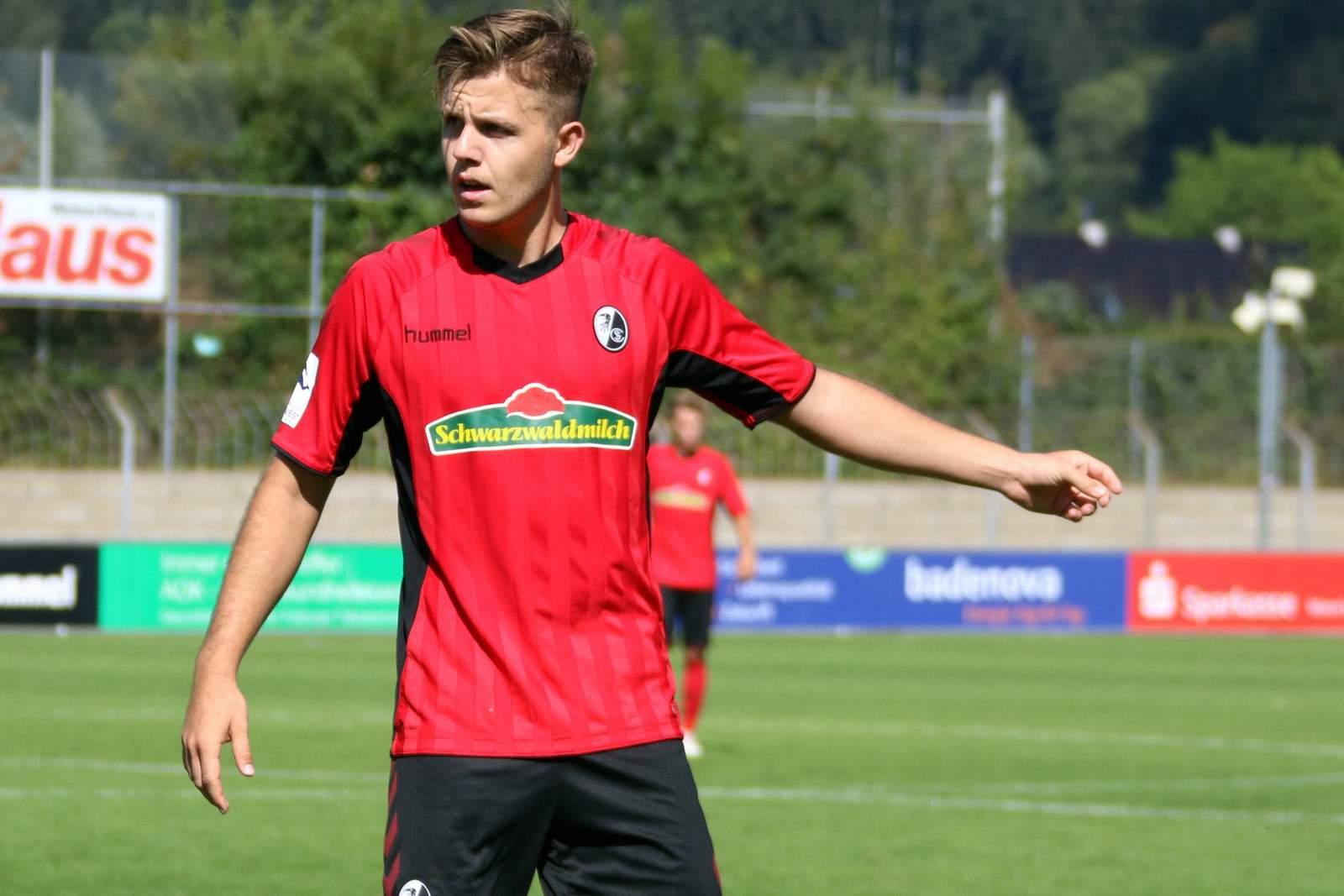 Patrick Kammerbauer vom SC Freiburg