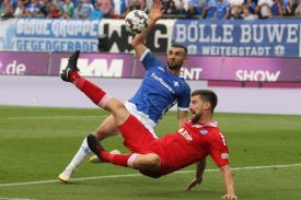 MSV Duisburg gegen Darmstadt 98