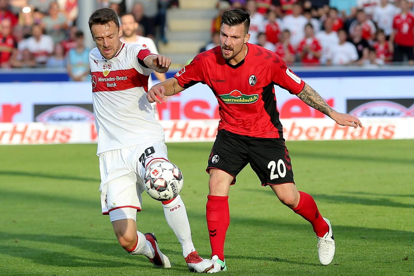 Kann Christian Gentner mit seinem VfB die Abstiegsplätze verlassen? Jetzt auf Stuttgart gegen Freiburg wetten!