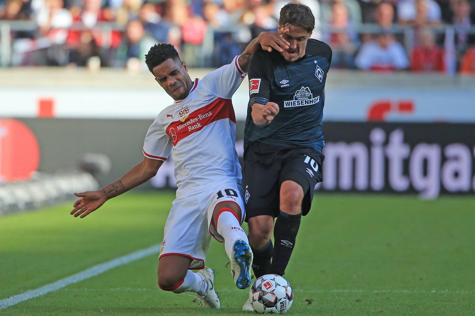Kann Max Kruse gegen Stuttgart den SV Werder wieder näher nach Europa bringen? Jetzt auf Werder gegen Stuttgart wetten!