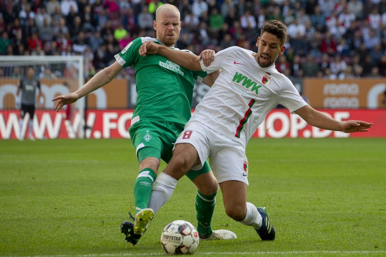 Nimmt Davy Klaassen mit Werder auch die Hürde Augsburg? Jetzt auf Bremen gegen Augsburg wetten!