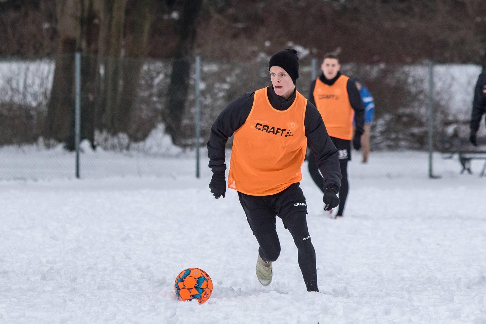 Dzenis Burnic im Training.