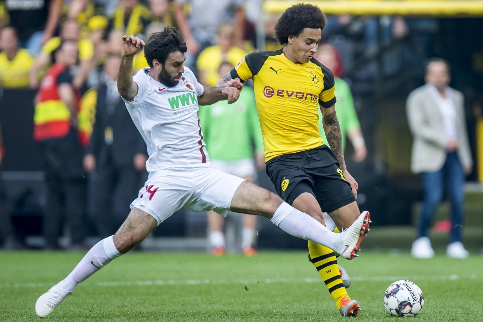 Kann Axel Witsel gegen Augsburg wieder sein Spiel aufziehen? Jetzt auf Augsburg gegen BVB wetten!