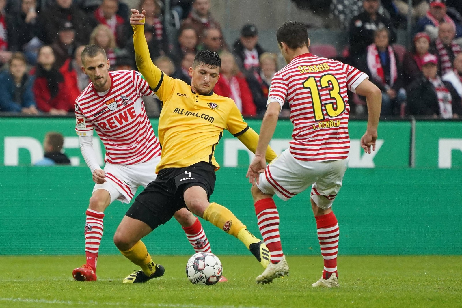 Jannis Nikolaou im Spiel gegen Köln.