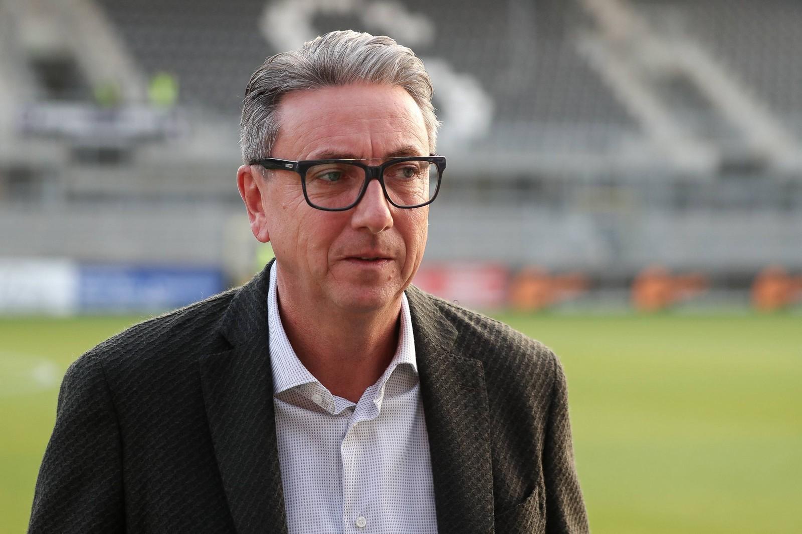 Jürgen Machmeier vom SV Sandhausen