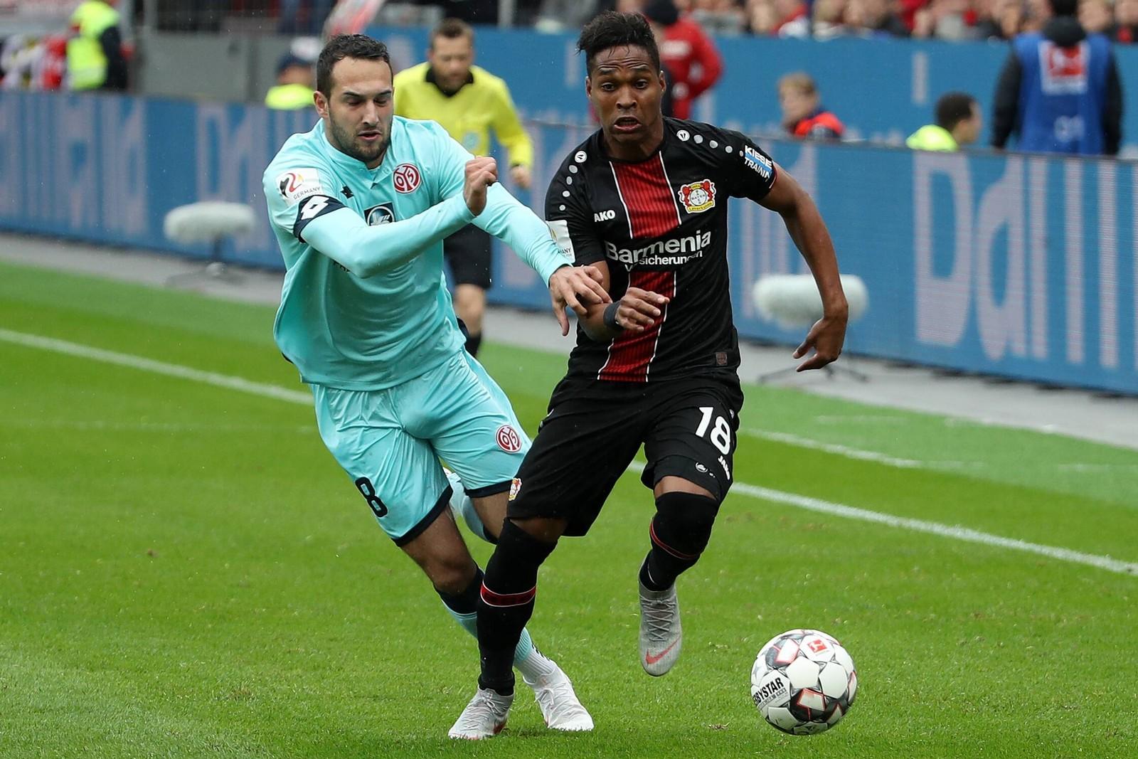 Kann Wendell mit Leverkusen wieder überzeugen? Jetzt auf Mainz gegen Leverkusen wetten!