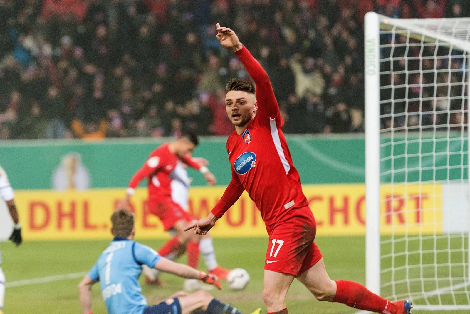 Maurice Multhaup vom FC Heidenheim