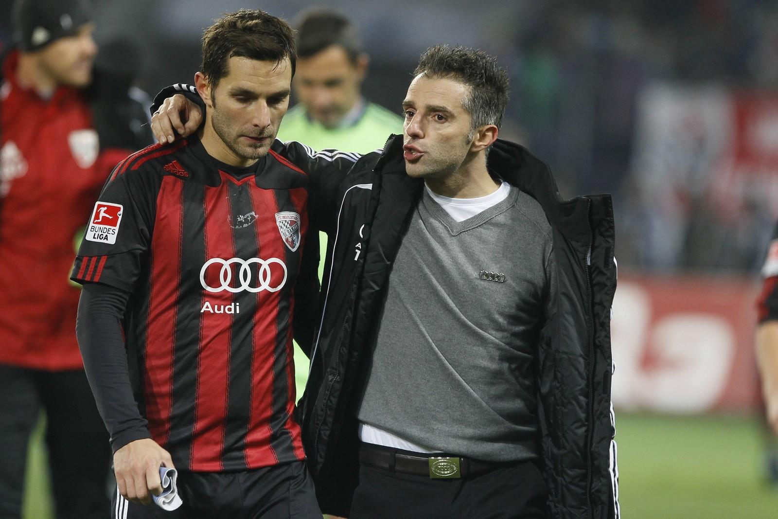 Stefan Leitl und Tomas Oral beim FC Ingolstadt