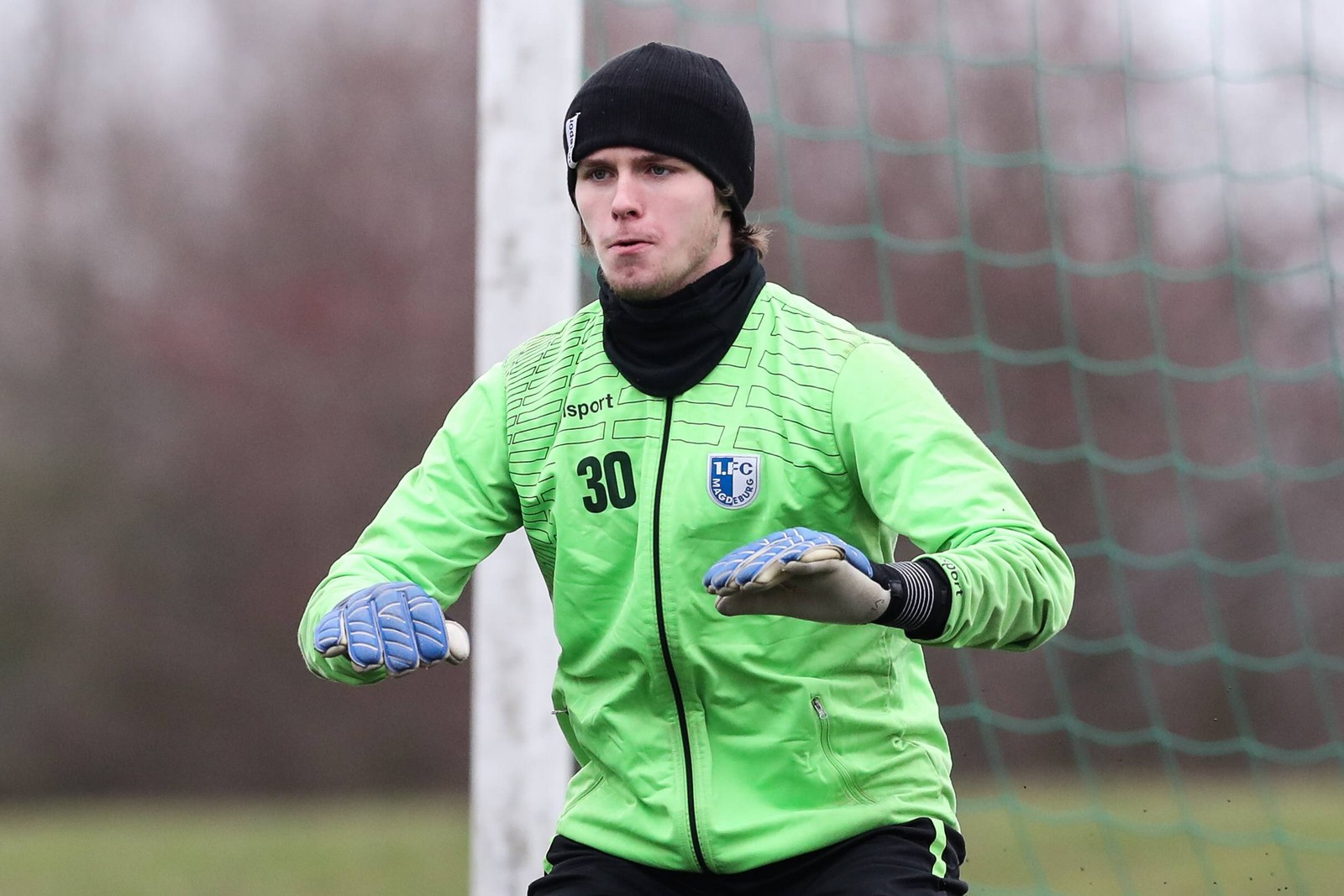 Tim Kips vom 1. FC Magdeburg
