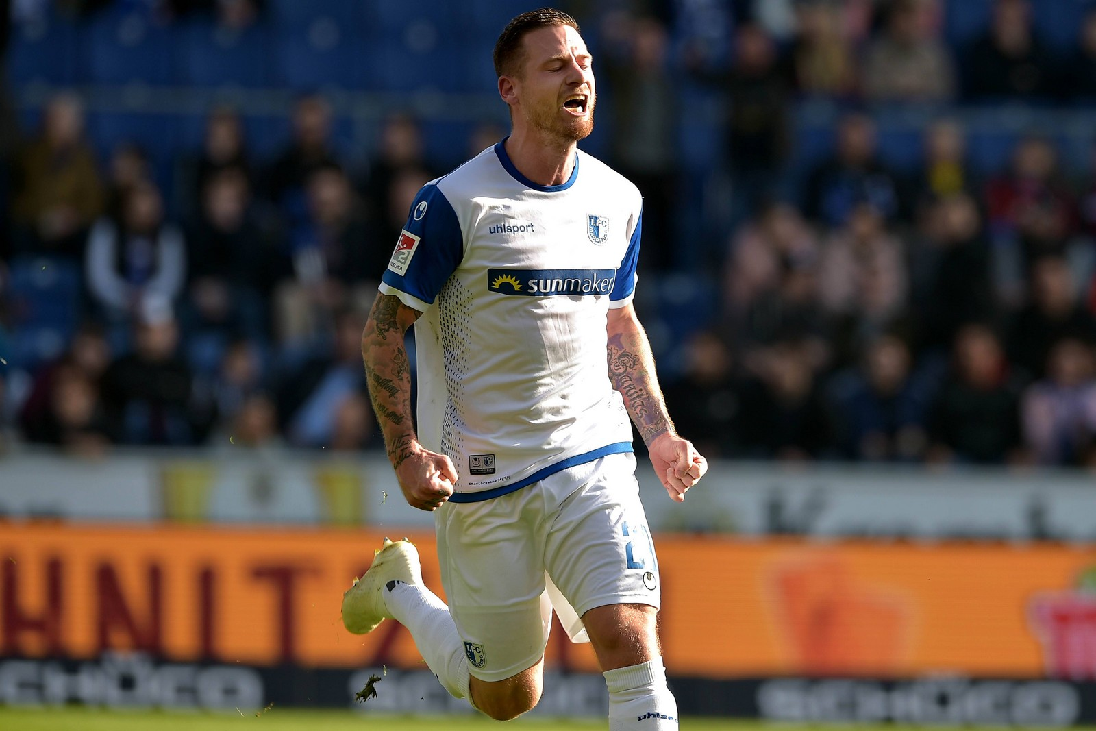 Timo Perthel vom 1. FC Magdeburg