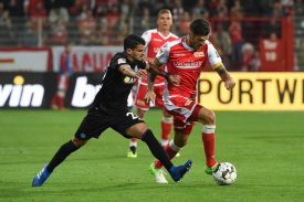 MSV Duisburg gegen 1. FC Union Berlin
