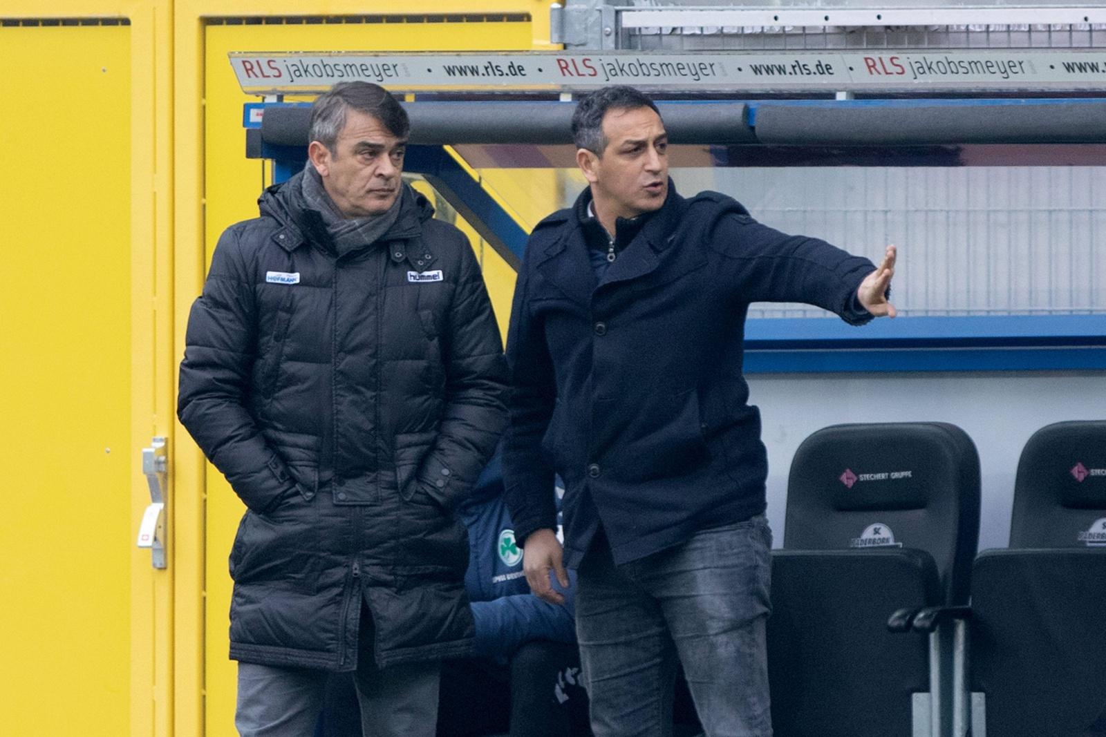 Damir Buric an der Seite von Rachid Azzouzi