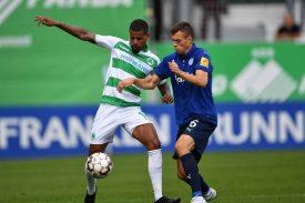Holstein Kiel gegen SpVgg Greuther Fürth