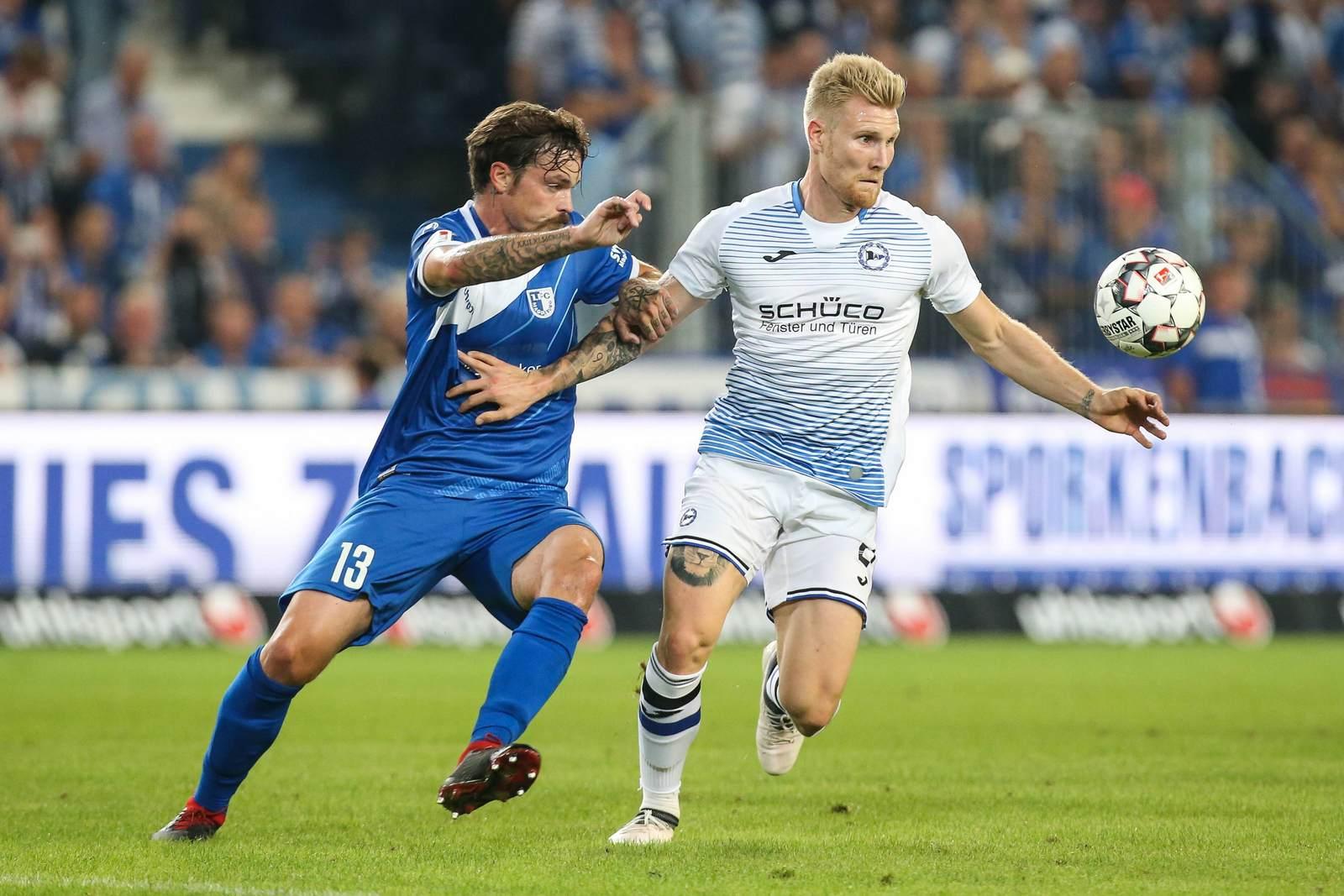 Dennis Erdmann gegen Andreas Voglsammer.