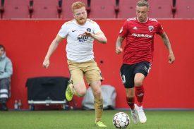 Erzgebirge Aue gegen FC Ingolstadt