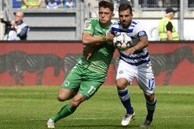 SpVgg Greuther Fürth gegen MSV Duisburg