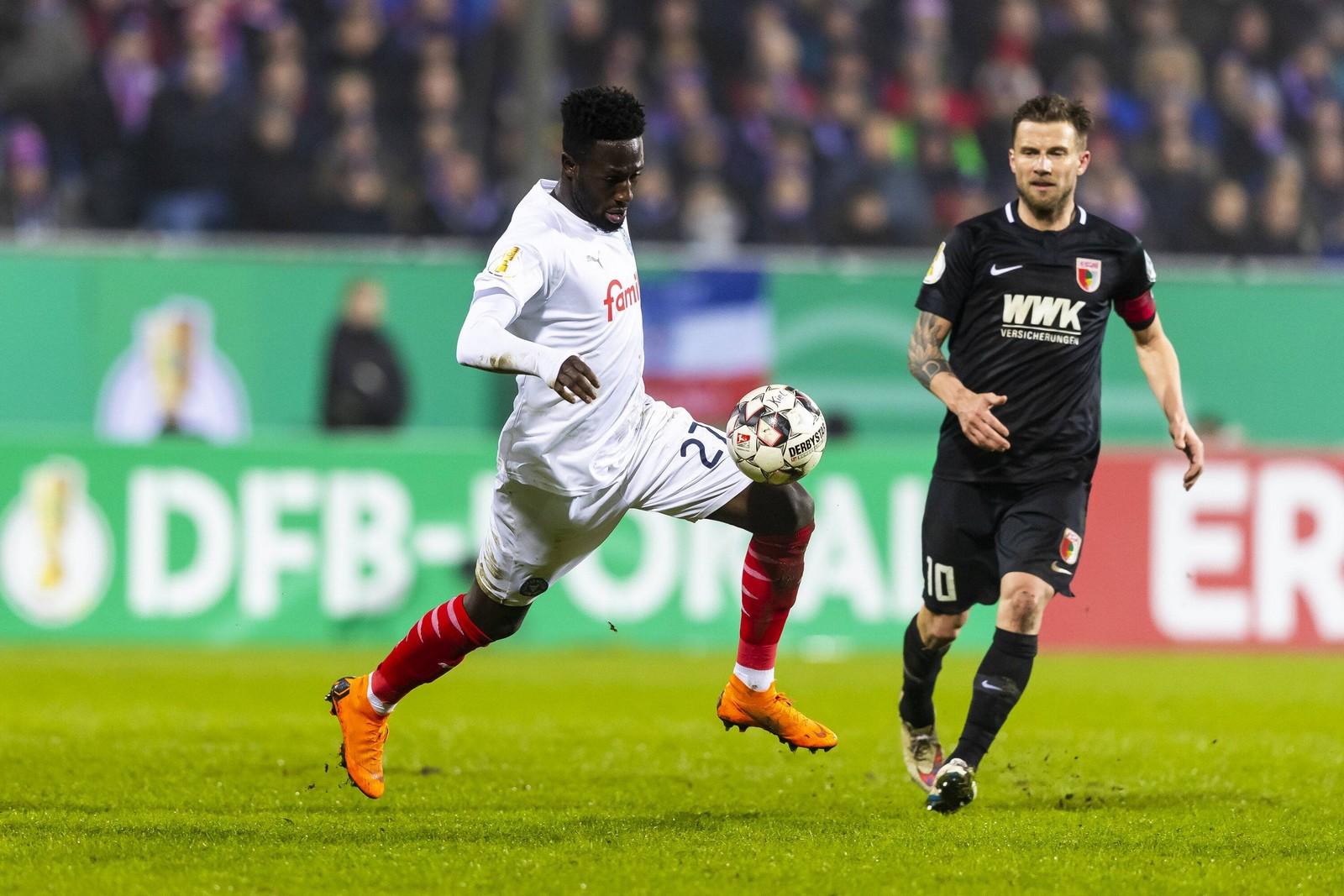 Kingsley Schindler im Pokal gegen Augsburg.