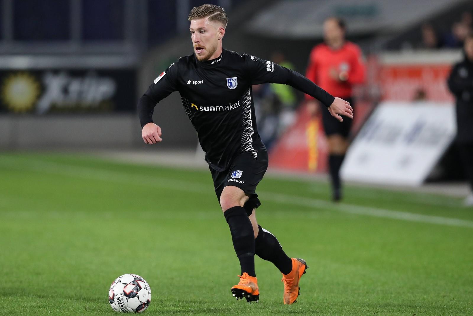 Philip Türpitz vom 1. FC Magdeburg