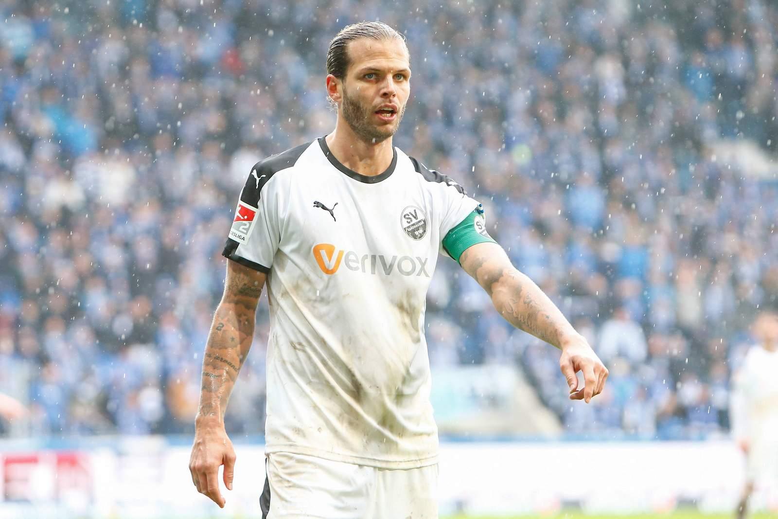 Dennis Diekmeier im Spiel gegen Magdeburg