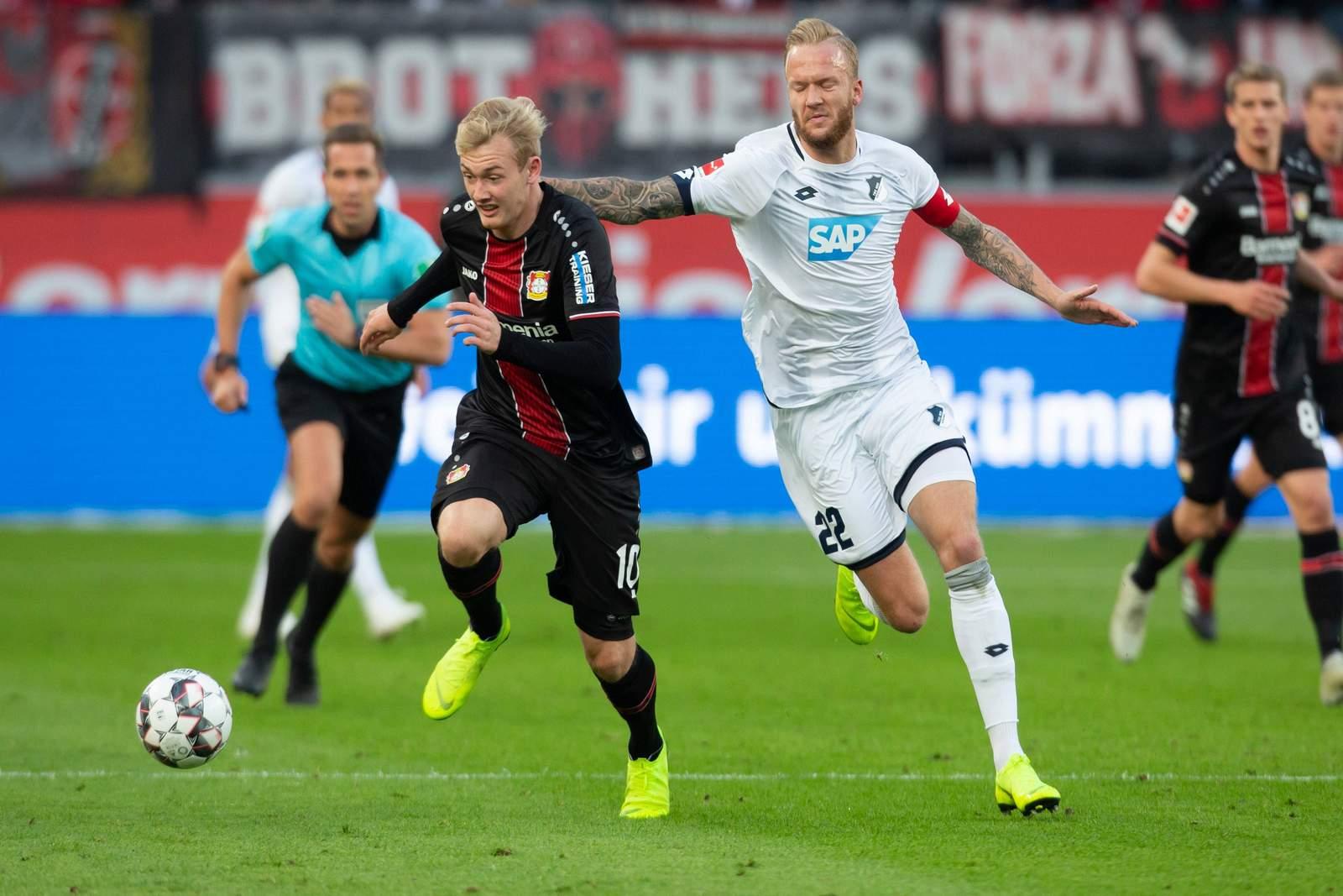 Setzt sich Brandt gegen Vogt durch? Jetzt auf Hoffenheim gegen Leverkusen wetten