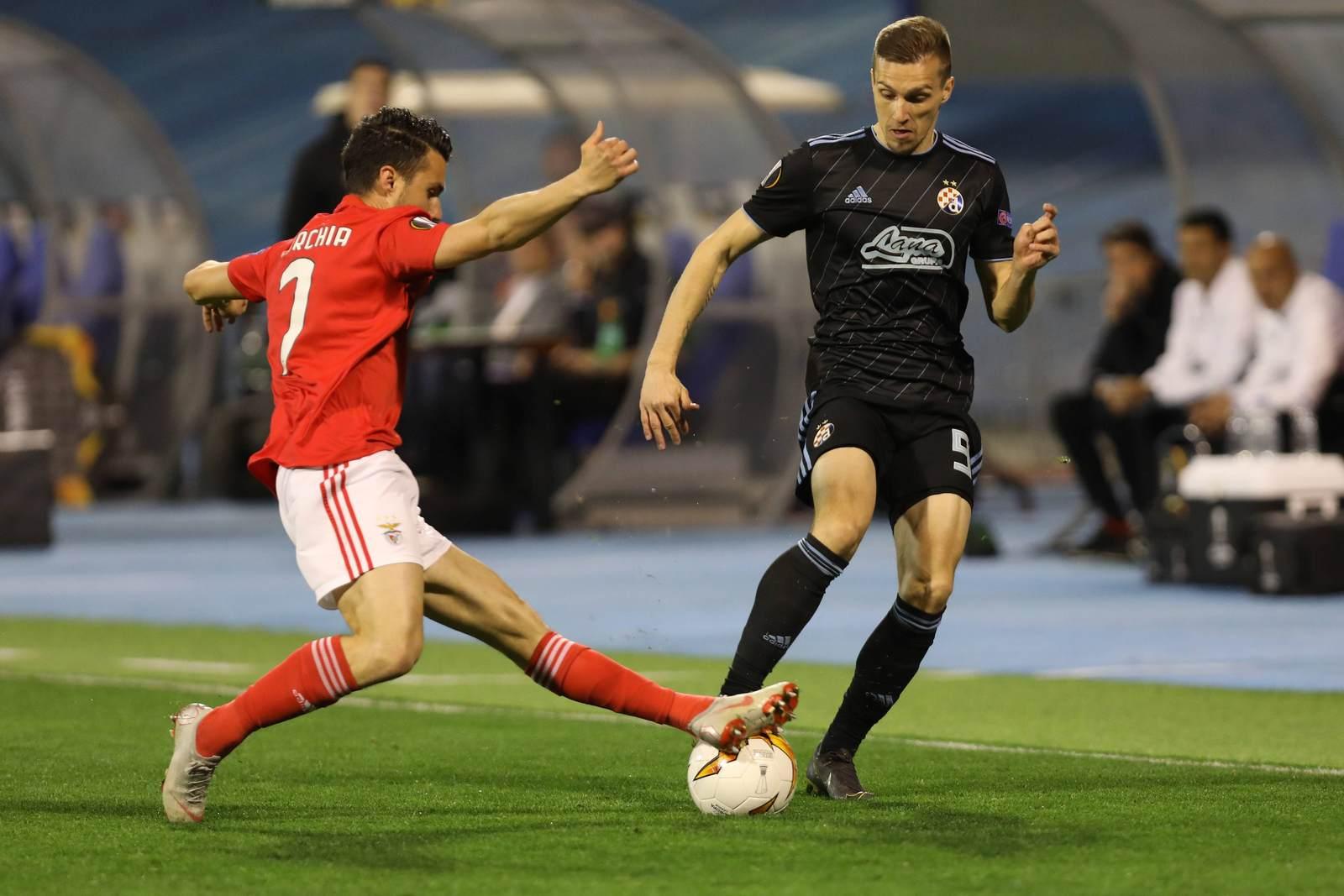 Sebastien Corchia gegen Mislav Orsic. Jetzt auf Benfica gegen Dinamo Zagreb wetten.