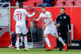 1. FC Köln: Anthony Modeste in der Startelf noch keine Hilfe