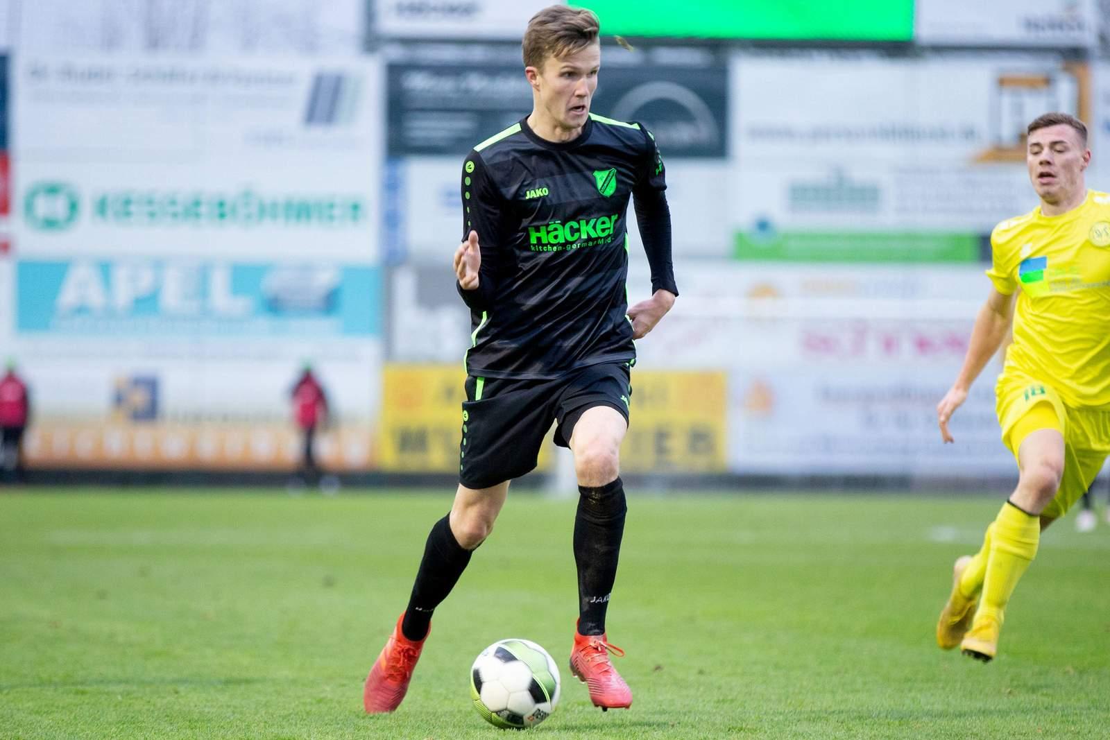 Fabian Kunze beim SV Rödinghausen