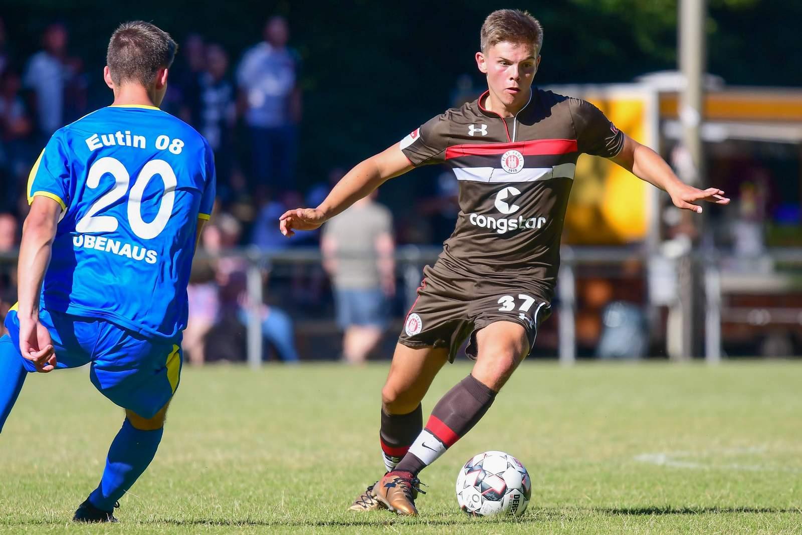 Finn Ole Becker vom FC St. Pauli