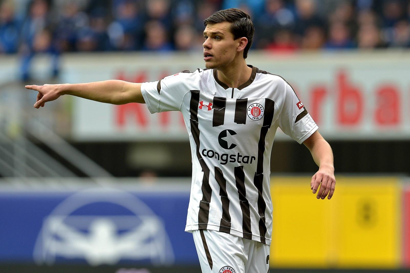 Justin Hoogma vom FC St. Pauli