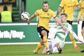 Dynamo Dresden verlängert mit Löwe