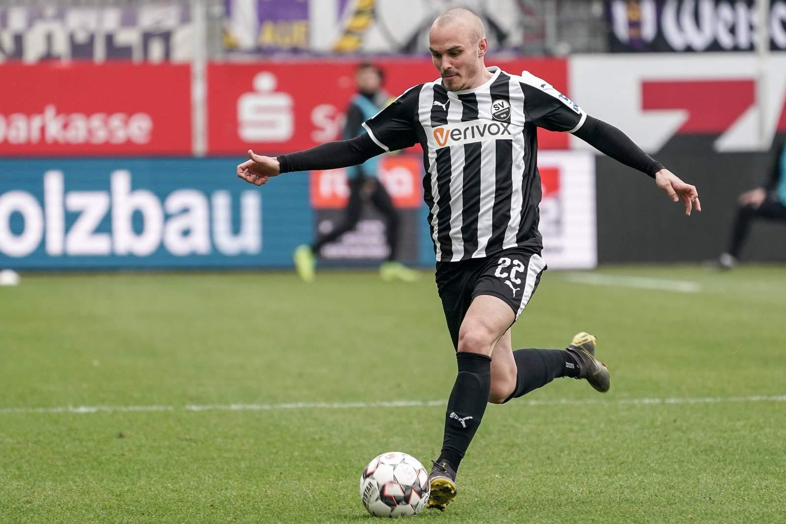 Korbinian Vollmann vom SV Sandhausen