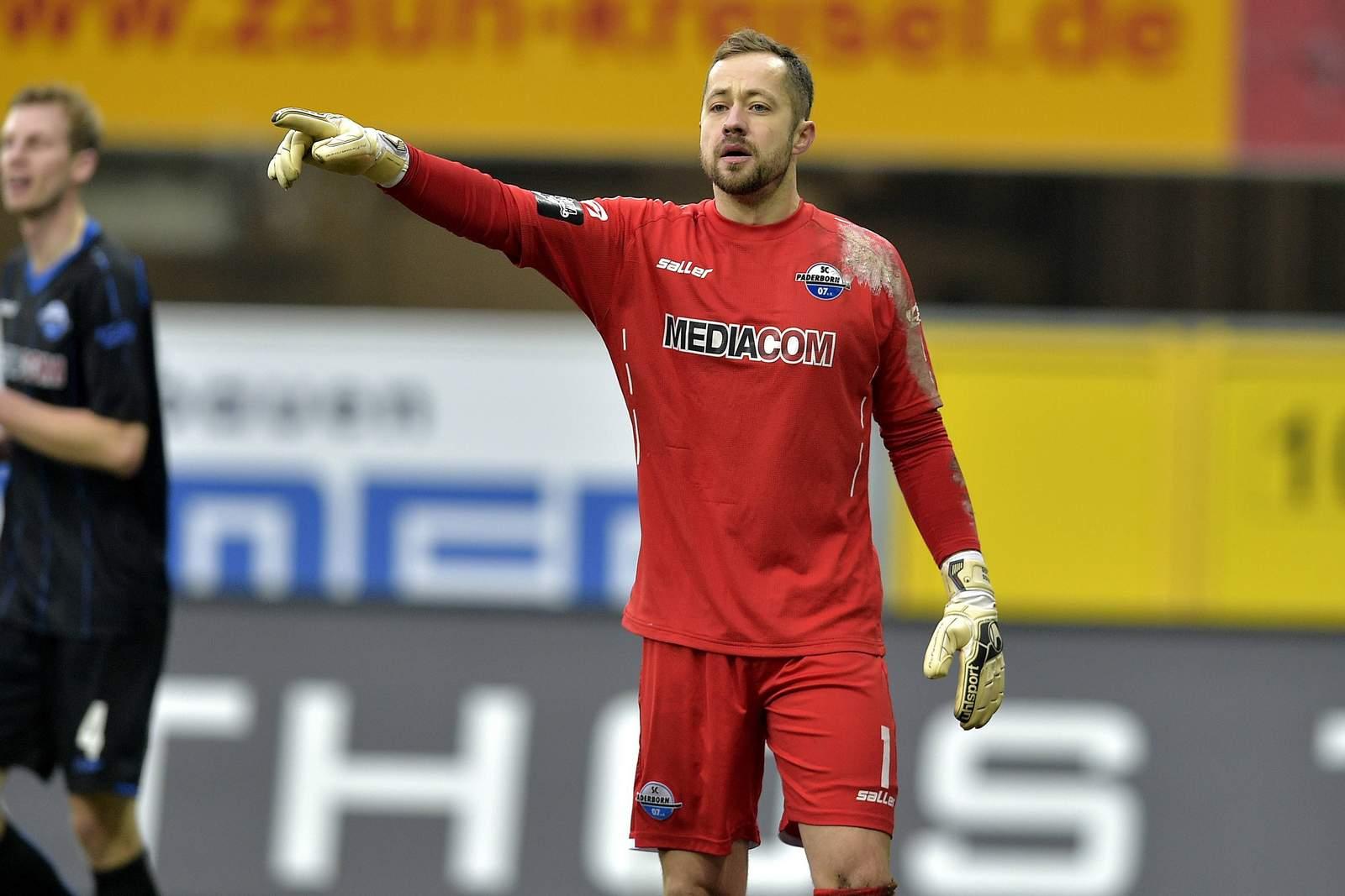 Lukas Kruse beim SC Paderborn