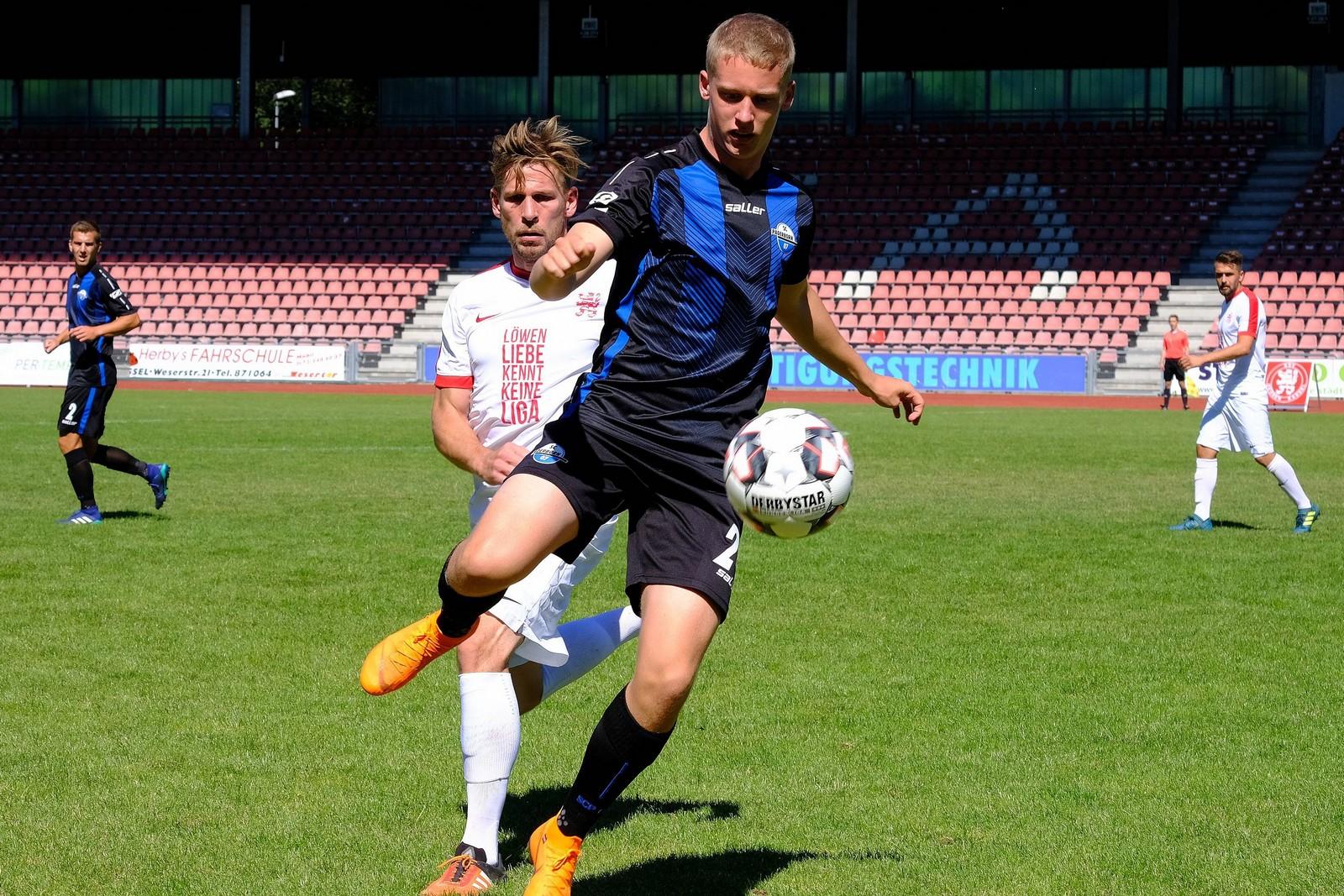 Oliver Schindler bei der U23 des SC Paderborn