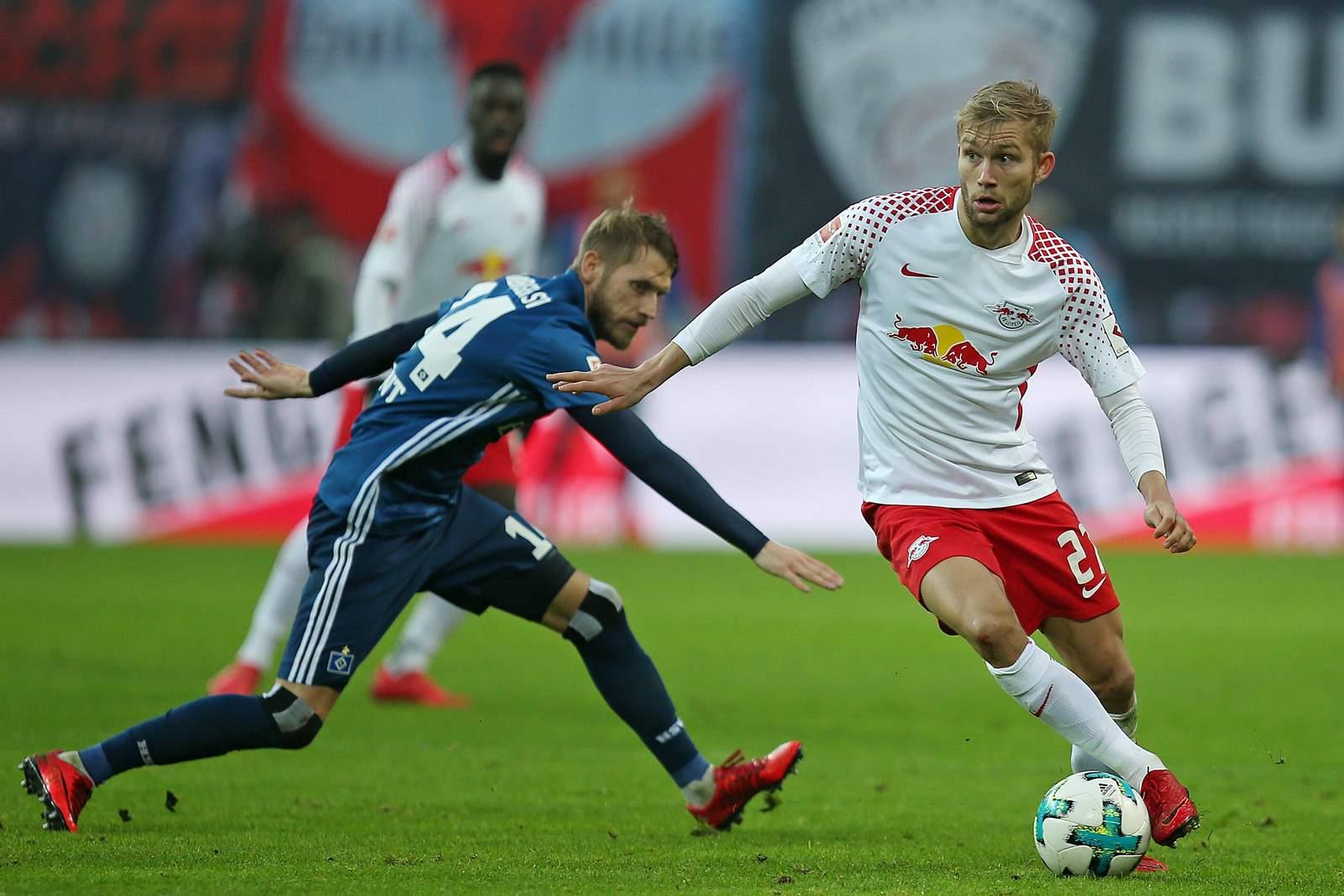 Setzt sich Hunt gegen Laimer durch? Jetzt auf HSV gegen Red Bull Leipzig wetten
