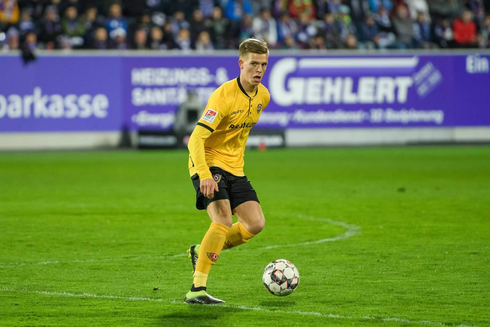 Dzenis Burnic bei Dynamo Dresden