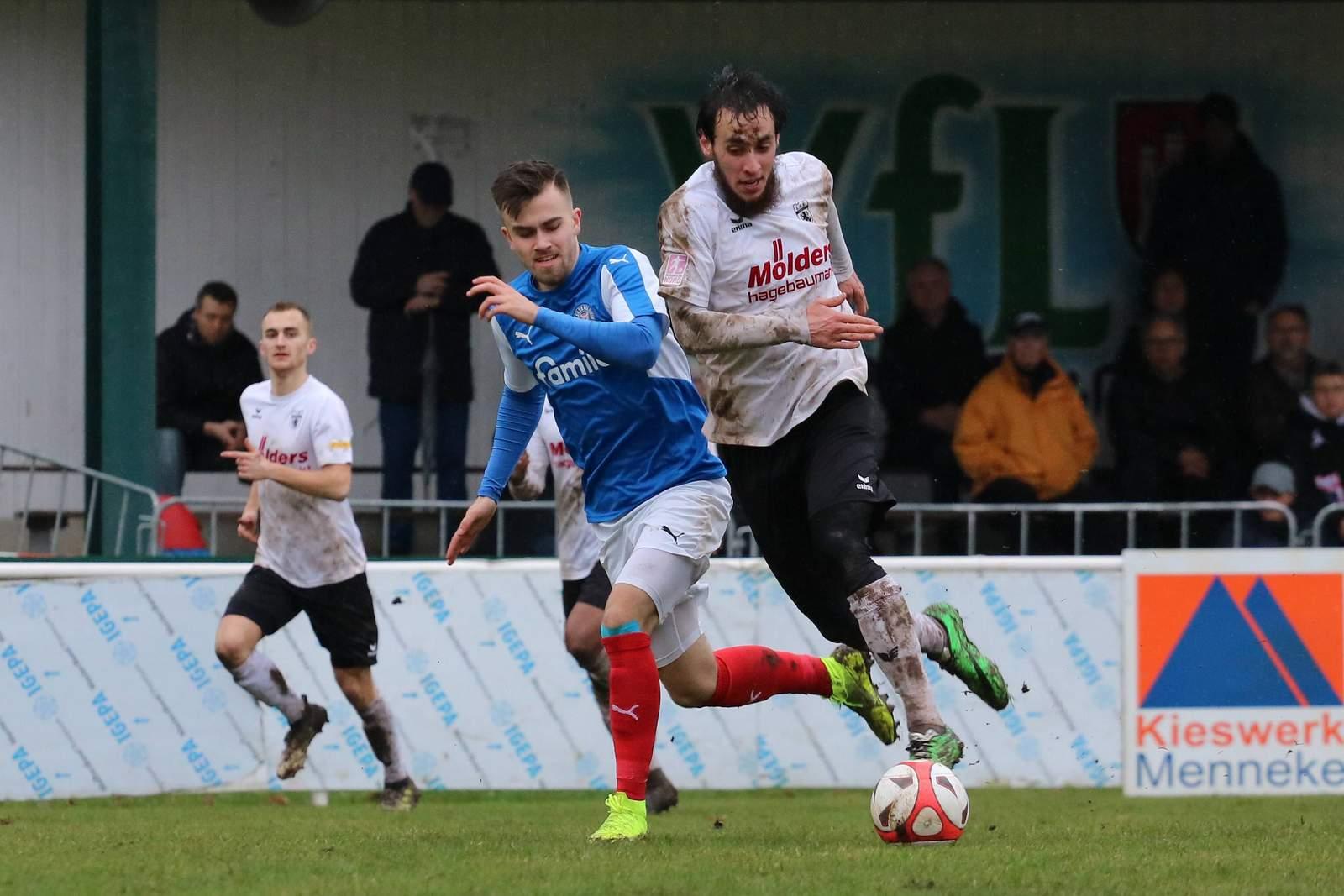Felix Niebergall von der U23 von Holstein Kiel