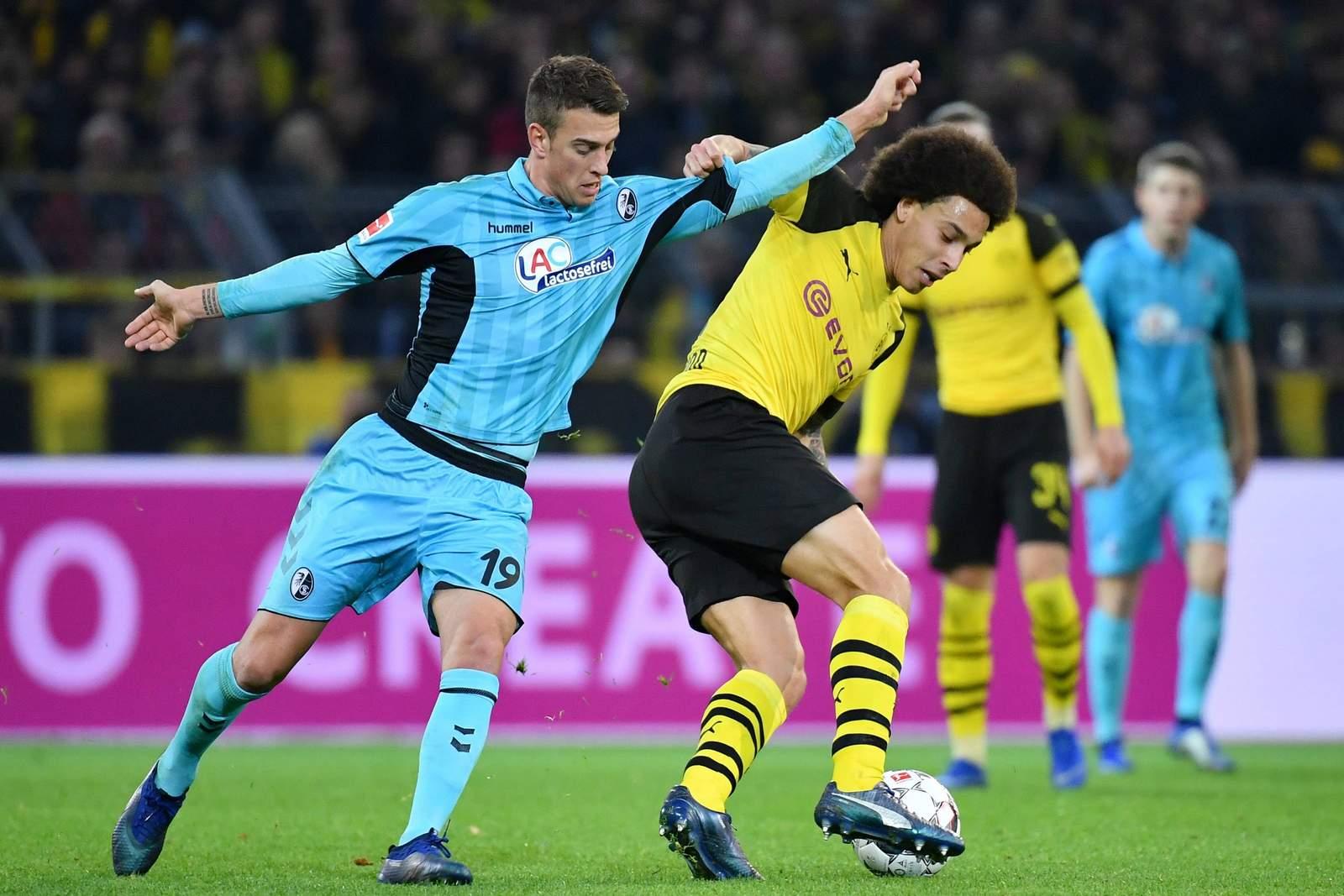 Kann Janik haberer Axel Witsel stoppen? Jetzt auf Freiburg gegen BVB wetten!