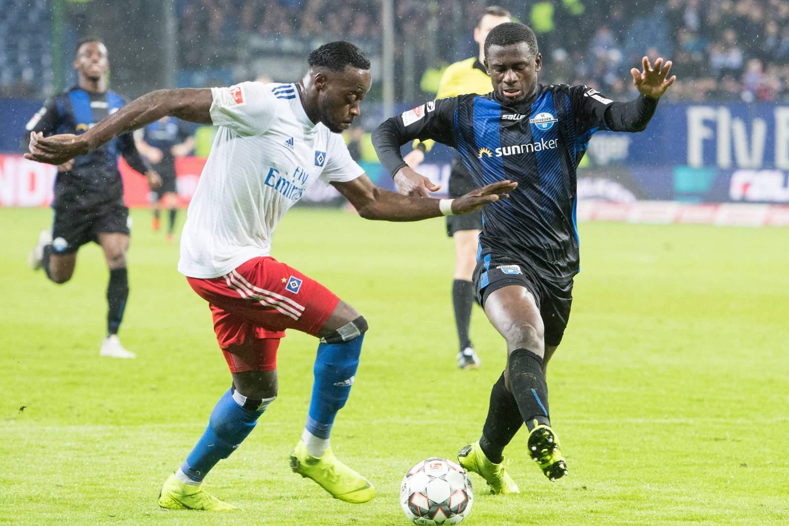 Setzt sich Narey gegen Collins durch? Jetzt auf Paderborn gegen HSV wetten