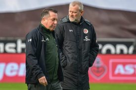 FC St. Pauli: Kauczinski und Stöver freigestellt