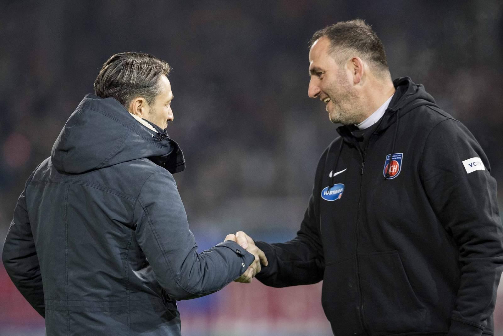 Setzt sich Kovac gegen Schmidt durch? Jetzt auf Bayern gegen Heidenheim wetten
