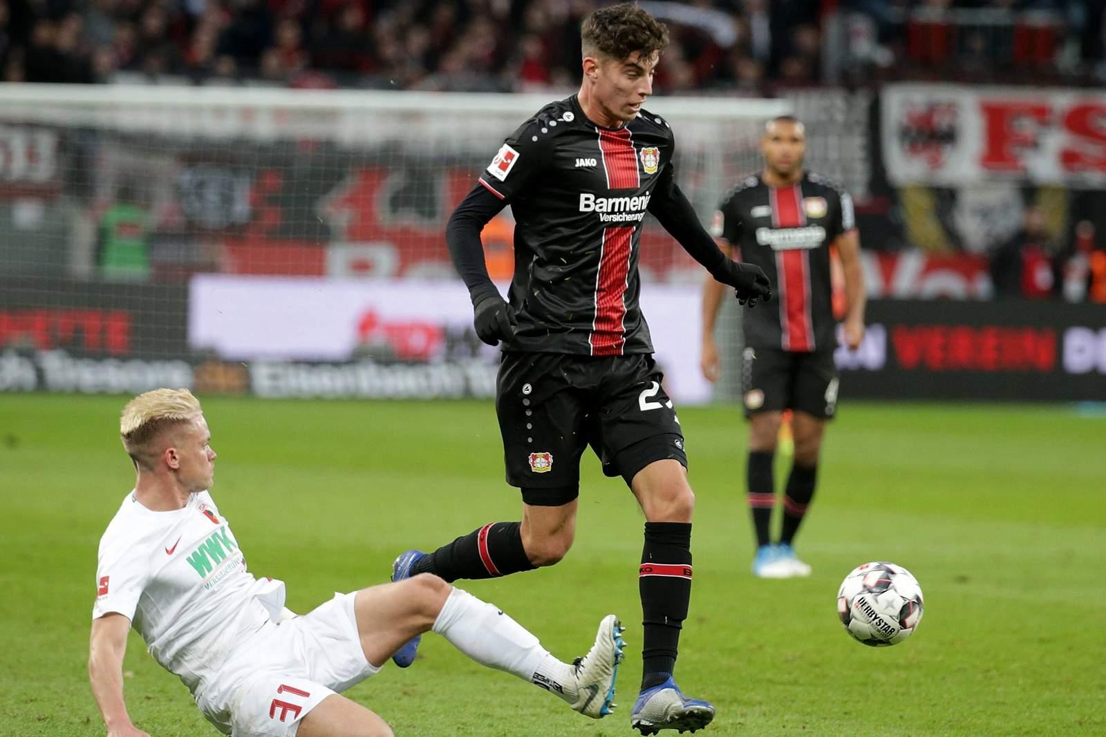 Setzt sich Havertz gegen Max durch? Jetzt auf Augsburg gegen Leverkusen wetten