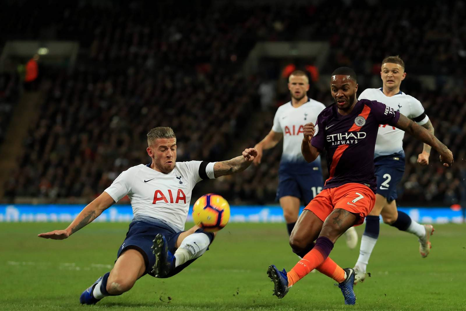 Setzt sich Sterling gegen Alderweireld durch? Jetzt auf Tottenham gegen Man City wetten