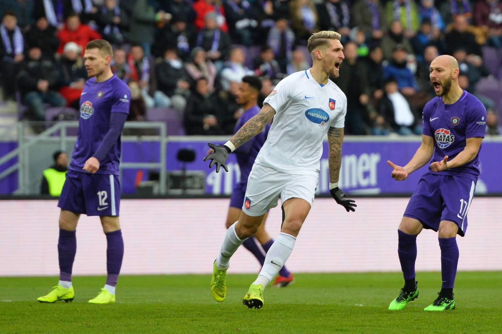 Robert Andrich vom FC Heidenheim